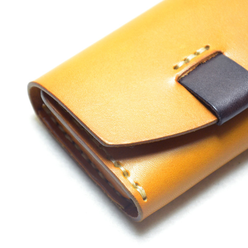 Alavchnv 2017 new original tannage handmade business card holder alavchnv 2017 new original tannage handmade business card holder japanese leather wallet br5050 in wallets from luggage bags on aliexpress alibaba colourmoves
