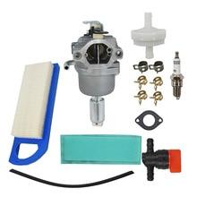 Carburetor For Briggs & Stratton 796109 591731 594593 Intek Carb Air Filter Kit цена и фото