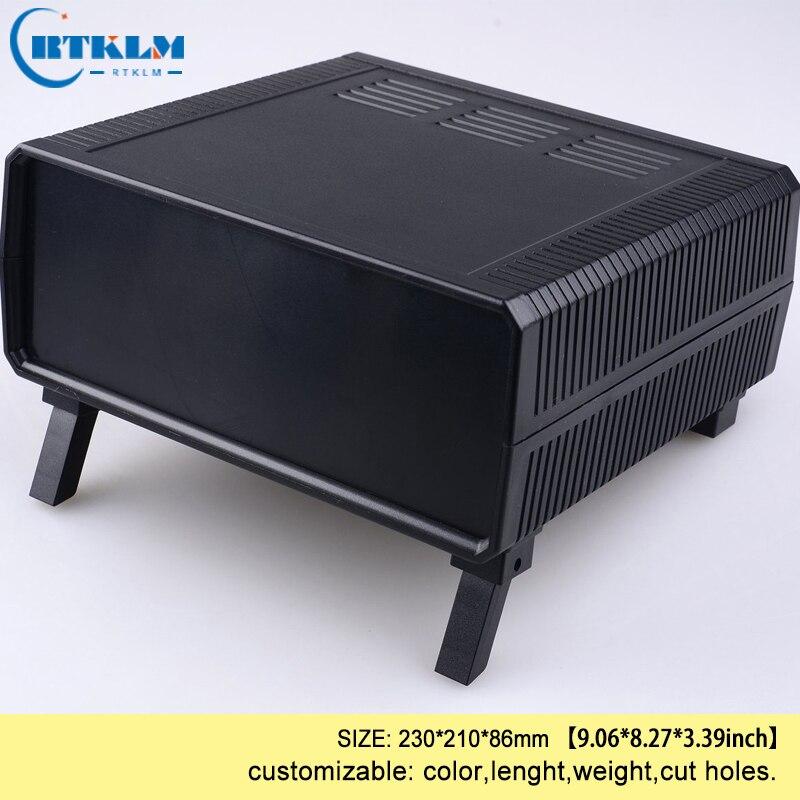 Abs en plastique projet cas personnalisé boîtier électronique BRICOLAGE boîte de jonction du boîtier en plastique PERSONNALISÉ boîte de connexion du fil 230*210 * 86mm