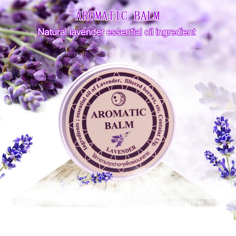 13g Effective Lavender Aromatic Balm Help Sleep Soothing Cream Essential Oil Insomnia Treatment Relieve Stress Cream TSLM1 Islamabad