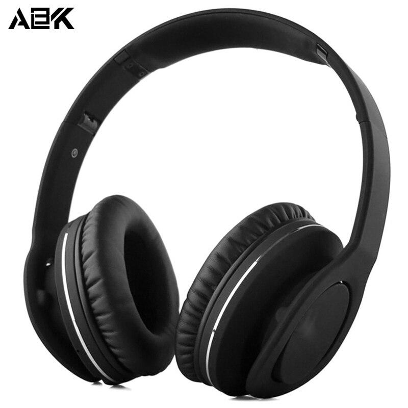 ALBK V8800N Portable HiFi Deep Bass Gaming Headphone Wireless Bluetooth Stereo Hands Free Headset With Mic For SmartPhone PC