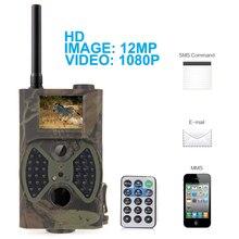 Инфракрасного ночного видения охота MMS 2.0 ЖК Full HD 12MP 1080 P 940nm ик-цифровой трейл-камеры ловушка HC-300M скаутинг камерой(China (Mainland))