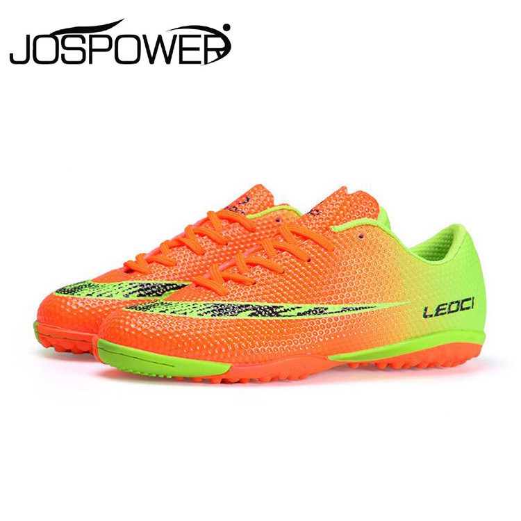 Leoci Professional Men Training Soccer Shoes TF Turf Indoor Football Boots Boys Soccer Shoes Zapatos Botas De Futbol