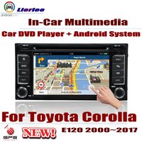 Car DVD Player For Toyota Corolla (E120/E130) 2000~2017 IPS LCD Screen GPS Navigation Android System Radio Audio Video Stereo