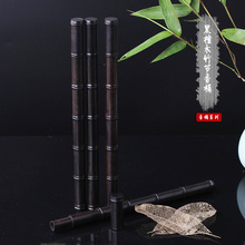 ebony bamboo incense mahogany sweet tube 8 grams purple sandalwood bucket lay Fragrant cylinder pipe