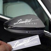 Ограниченная серия эмблема «Edition» креативная 3D металлическая никелевая наклейка на окна автомобиля для Audi A1 A3 A4 A5 A6 RS TT Q1 Q3 Q5 Q7 декоративные наклейки