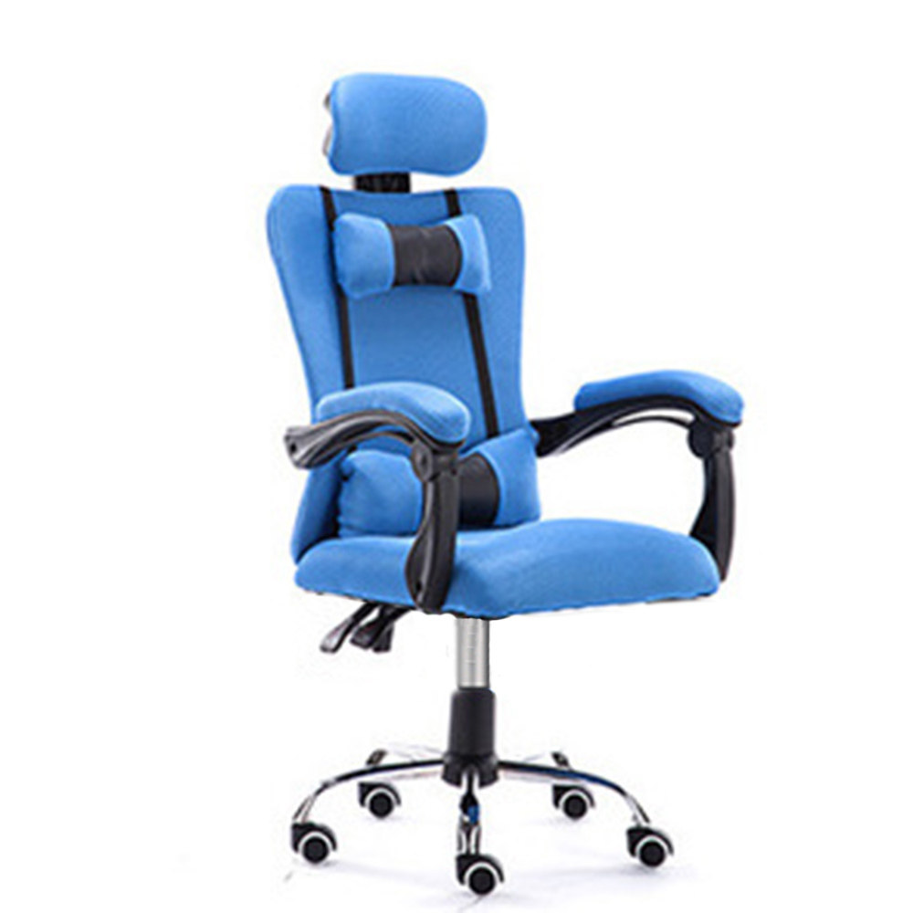 High Quality Office Live Silla Gamer Breathable Cushion Lacework Chair Wheel Ergonomics Can Lie Office Furniture Steel Feet