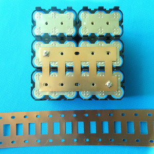 Image 5 - 18650 battery nickel belt 4P 6P 10P Lithium ion cell pure nickel strip Cell center spacing 21mm For 18650 battery 4P 6P holder