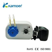 Kamoe Nuovo KCP 24V Peristaltica Acqua Pompa di Erogazione Macchina Rifornimento Con Portata Regolabile A Basso Rumore Per Il Laboratorio Liquido