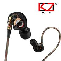 Free shipping new arrival KZ ATE sports earphone in ear bass HiFi portable