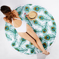 Bohemian Round Hippie Tapestry Beach Throw Roundie Mandala Towel Mat