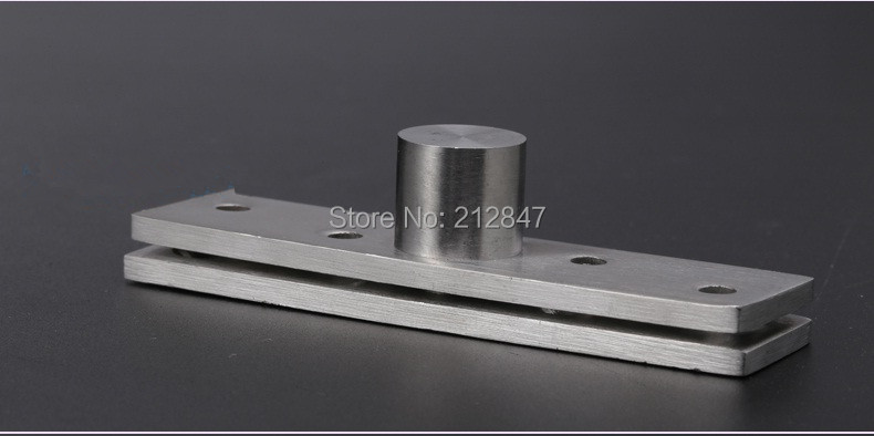 1 Pair Up Down Rotating Conceal Core Shift Hinge Closet Pivot Stainless Steel 360 Degree Door Hardware Furniture Color: 150mm
