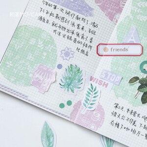 Image 5 - 20packs/lot menta di serie del diario mini adesivo di carta per bambini dairy decoration sticker etichetta imballaggio di auto adesivo appiccicoso commercio allingrosso