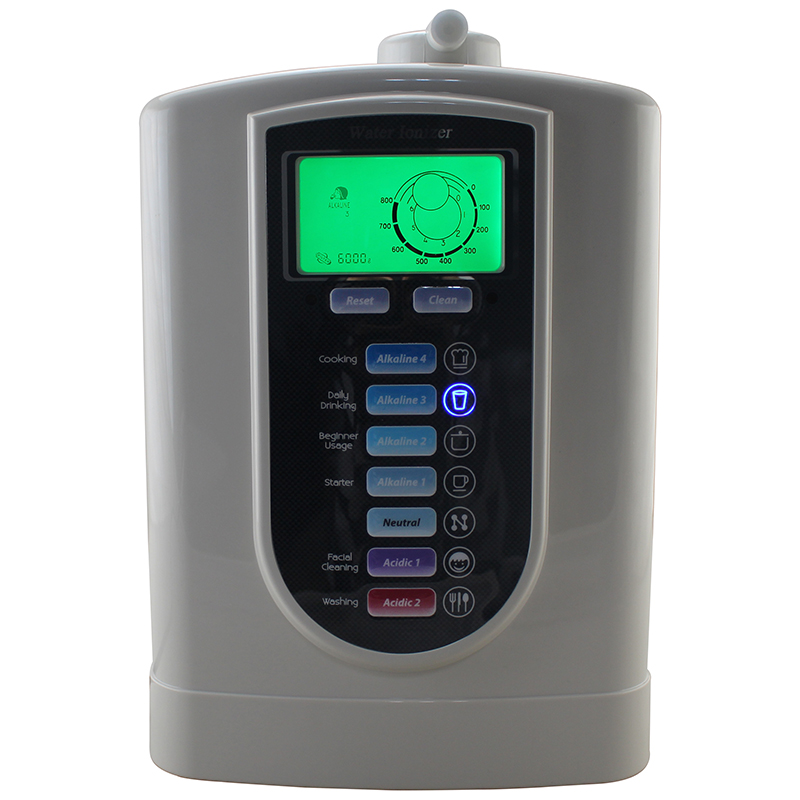 New alkaline water Ionizer machine with 3-stage pre filter set for home use