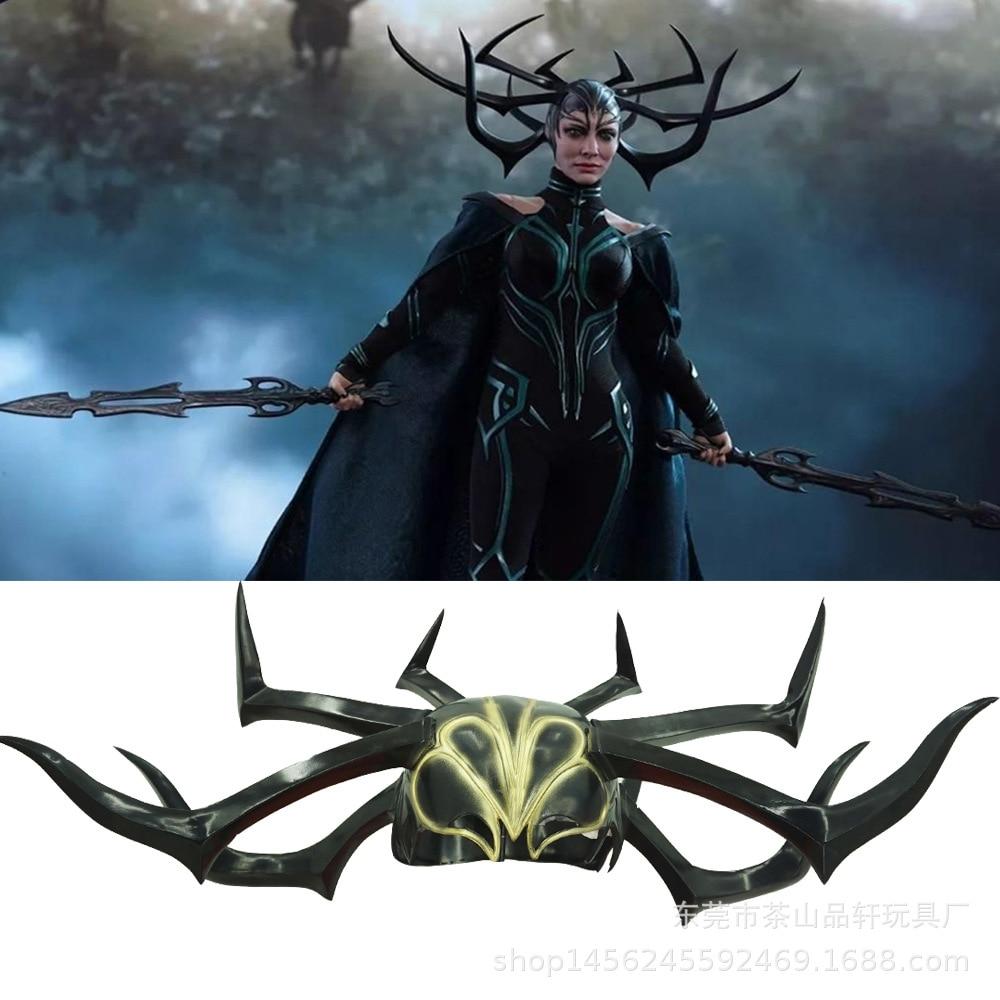 Thor Ragnarok Hela mask halloween masque horror mask