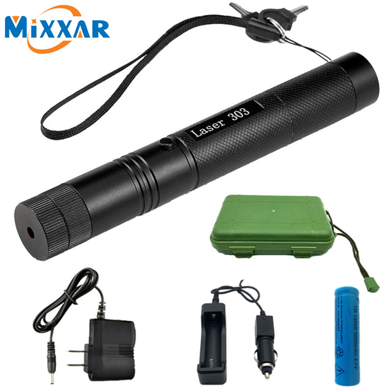 Dropshipping 532 nm Green Laser Sight laser 303 pointer Powerful device Adjustable Focus Lazer laser 303+charger+18650 BatteryDropshipping 532 nm Green Laser Sight laser 303 pointer Powerful device Adjustable Focus Lazer laser 303+charger+18650 Battery