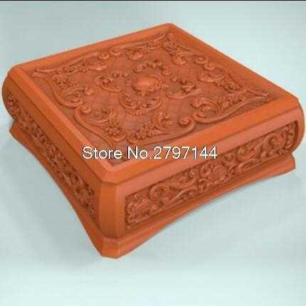 Caja 3D relieve de Modelo figura formato STL joyas de religión caja relieve de modelo 3d para cnc en formato de archivo STL