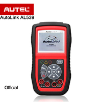 Autel AutoLink AL539 OBDII/CAN Scan Tool/Code Reader AVO Meter Allows You toTest Voltage