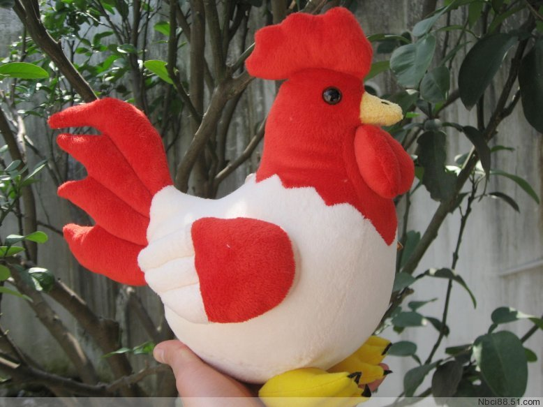 larggest toy 45x40cm colourful cock plush toy soft pillow surprised birthday gift b4808 стоимость