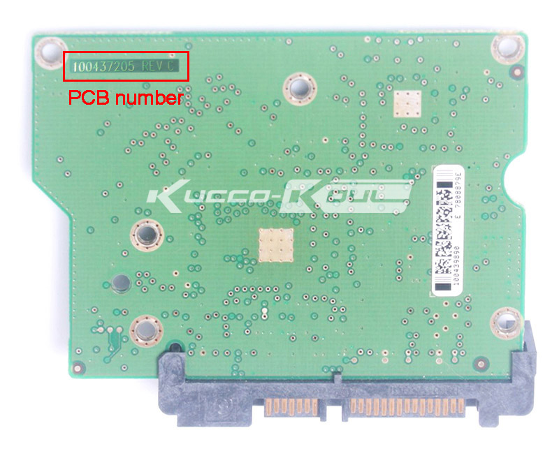 hard drive parts PCB logic board printed circuit board 100437205 for Seagate 3.5 SATA hdd data recovery hard drive repair