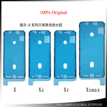 10 ピース/ロットオリジナル防水ステッカーの iPhone X XS XR XS 最大液晶画面テープ 3 メートル粘着のり修理部品