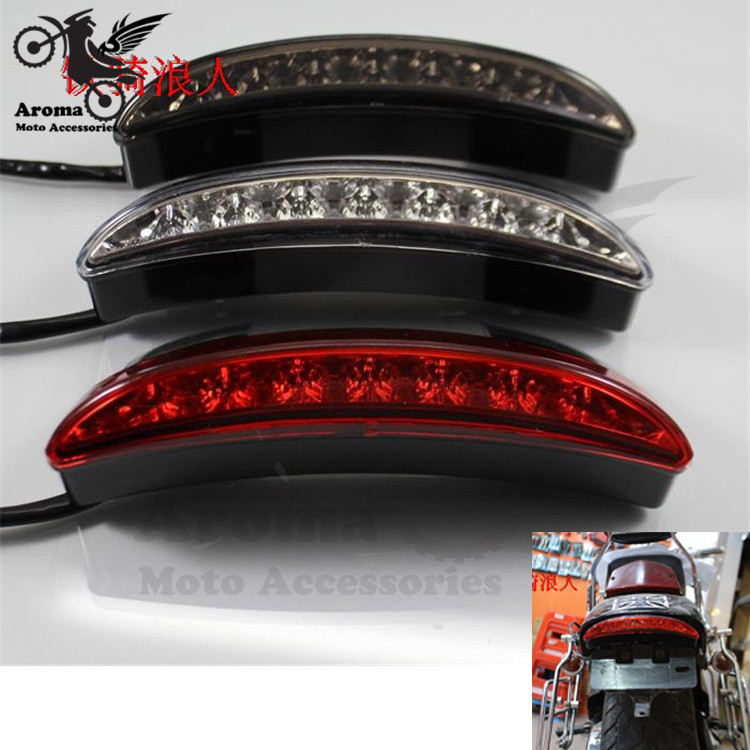 professional accessories scooter LED for Harley Davidson motorcycle tail light for harley XL883 XL1200 moto rear brake light