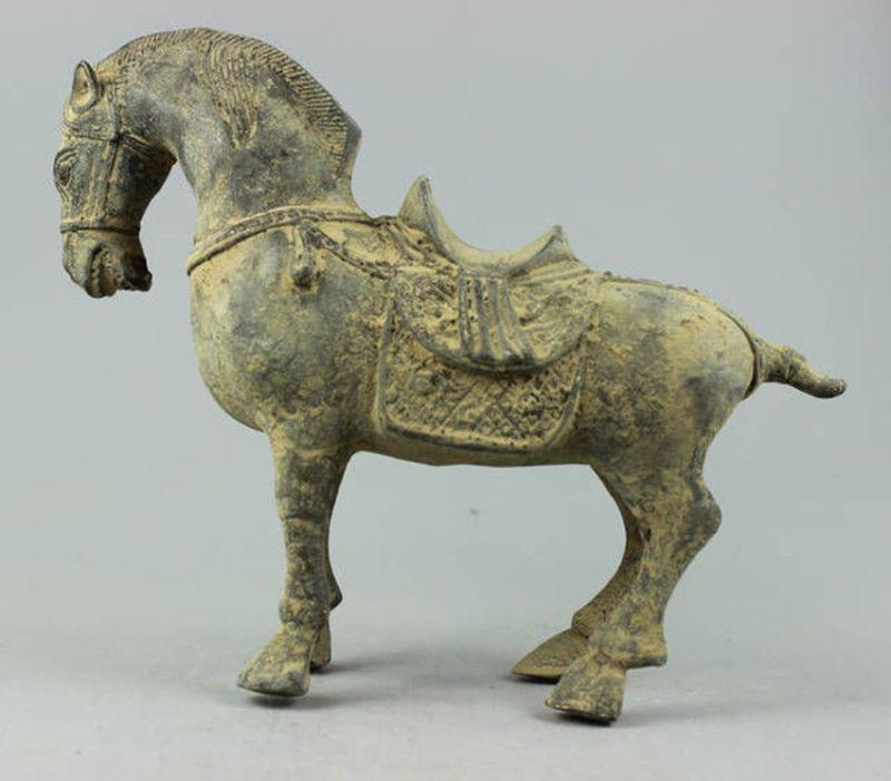 Collectible Decorated Old Handwork Bronze sculpture Horse statueCollectible Decorated Old Handwork Bronze sculpture Horse statue