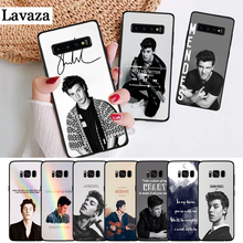 Lavaza BiNFUL Shawn mendes Pattern Silicone Case for Samsung S6 Edge S7 S8 Plus S9 S10 S10e Note 8 9 M10 M20 M30 цена 2017