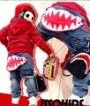 EMS/DHLFree Доставка Новые Поступления Дети С Большой Зубы Акулы Джинсы Внешней Торговли Оптовая