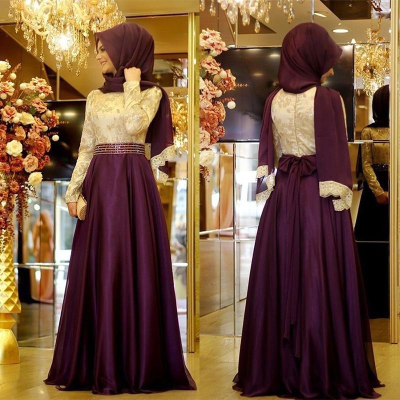 New Large Size Muslim Evening Dress Abaya Dubai Kaftan Turkish Elegant Islamic Wedding Hijab Dresses Abayas Clothing For Women