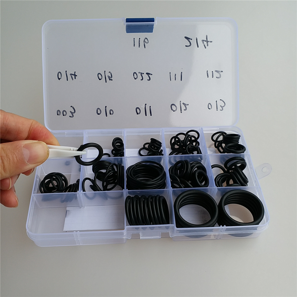 170Pcs 12 Sizes Nitrile Rubber Sealing O Rings Washer For Scuba Diving Cylinder/Tank