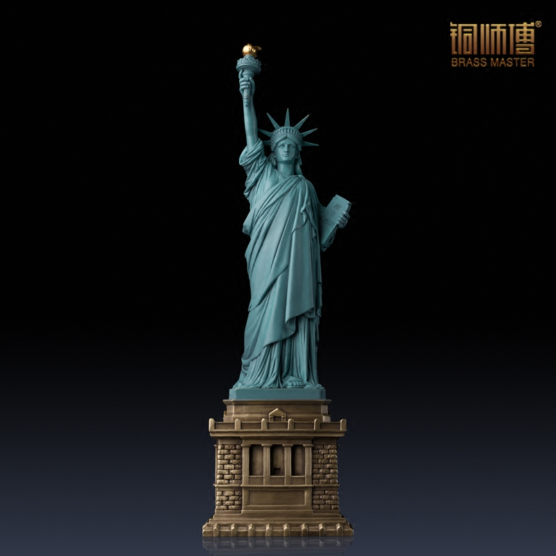 High Quality Famous Buildings Over The World Statue Of