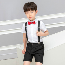 2019 summer boys  children clothing fashion Cotton set boutique kids costume ALI 291