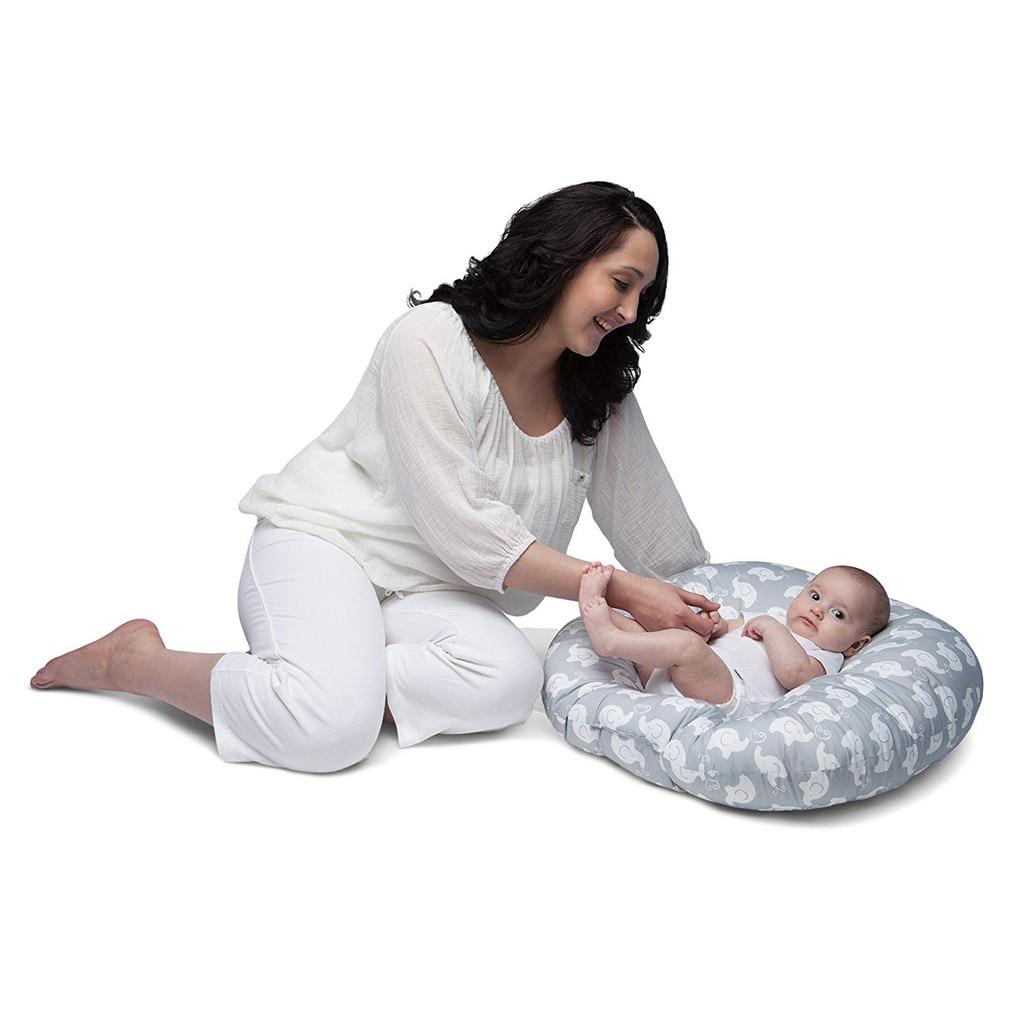 Новорожденный ребенок Шезлонг Портативный мягкие стулья слон диван Поддержка Подушка на сиденье