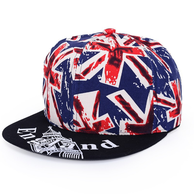 Solid Adult Casquette Swag Summer Style Flag Printed Hats Cap Baseball Hip Hop Fashion