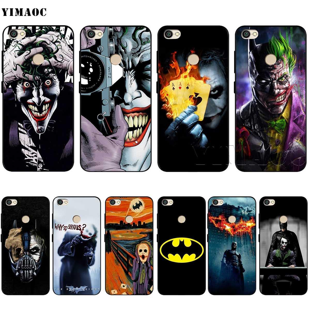YIMAOC Бэтмен Джокер, Темный рыцарь мягкий чехол из термопластичного полиуретана для Xiaomi Redmi mi Note MAX 3 6 6A 7 mi 6 mi 8 9 se a1 a2 Pro Lite go pocophone f1