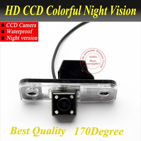 Высокая якасць HCCD камера задняга віду для Hyundai новага Сант fé аўтапаркоўцы камеры з 170 градусаў аб'ектыў начнога бачання воданепранікальны