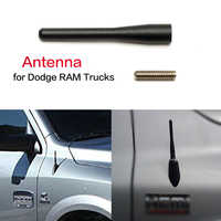 "3.15"" New Metal Antenna For Dodge RAM Trucks (2009-2017) Black Car Aerials Antenna For Dodge 09 10 11 12 13 14 15 16 17"