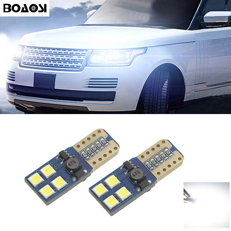 2x Canbus T10 W5W 168 194 LED Wedge Light No Error For Land Rover v8 discovery 4 2 3 x8 freelander 2 defender A8 a9