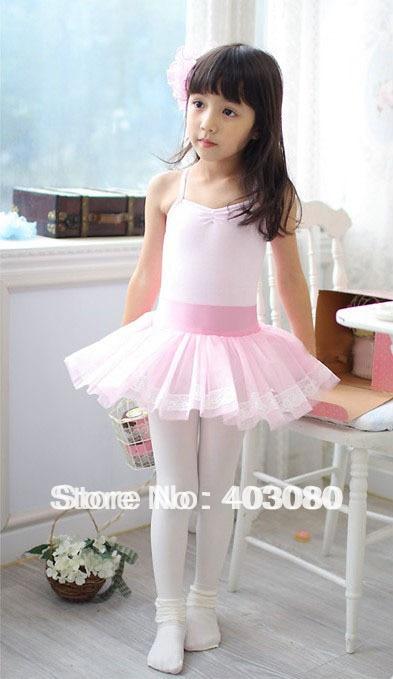 3 8 years Children's pink ballet skirt,kid tutu dance