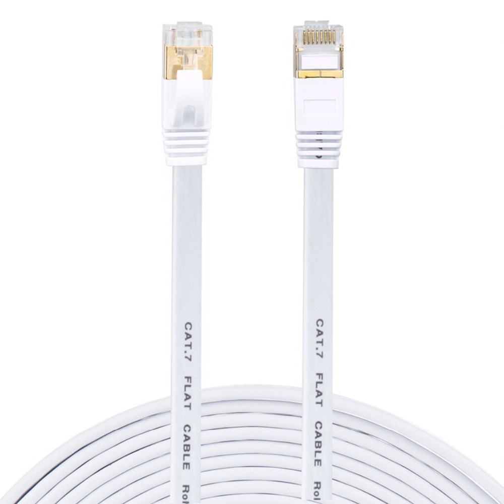 Ethernet Cable Cat7 Lan Cable UTP RJ 45 Network Cable rj45 Patch Cord /15m/20m/30m for Router Laptop Ethernet Cable ugreen ethernet cable rj45 cat7 lan cable utp rj 45 network cable for cat6 compatible patch cord cable ethernet