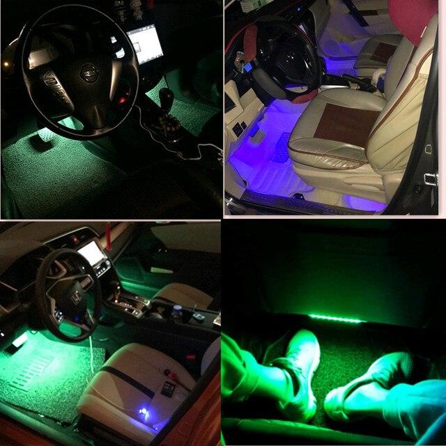 New Style Car Interior LED Neon Lamp for Citroen C4 C5 C3 Picasso ...