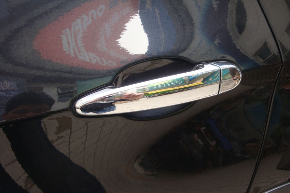 Auto chrome accessories,door handle cover l trim for <font><b>BMW</b></font> <font><b>X4</b></font>,<font><b>2015</b></font> ABS chrome,car styling image