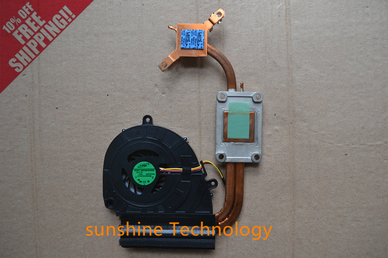 New laptop fan with heatsink for ACER 5750G E1-571G E1-571 5750 5755 Cooler Radiators Cooling Fan