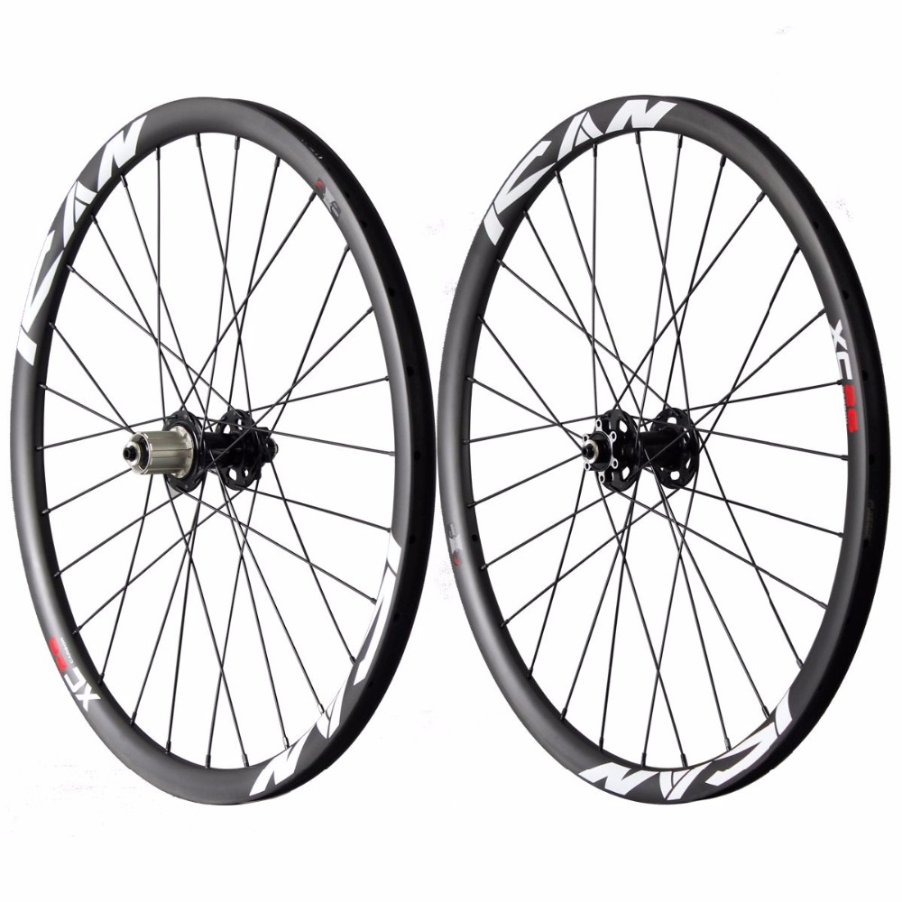 26ER mtb carbon wheels 25mm clincher mountain carbon bike wheelset Powerway M81 UD matt with logos bike wheels 26ER-25C factory direct mountain bike clincher wheelset 29 inch 27 5er carbon mtb wheels 29er 650b carbon mtb wheels tubeless rims