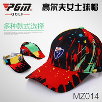 Genuine Golf Cap Inkball Lady Sunscreen Breathable Splash Female Golf Hat Super Multi Style