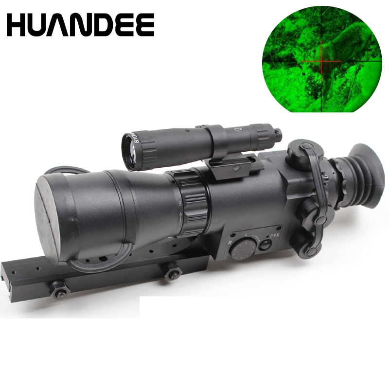 Gen1 500 м Монокуляр прицел ночного видения оружие Сфера Охота Ночь Область NV008