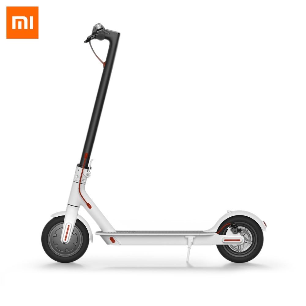 Original Xiaomi M365 Smart Electric Scooter Foldable Lightweight Long Board Skateboard 30KM Mileage Electric Scooter