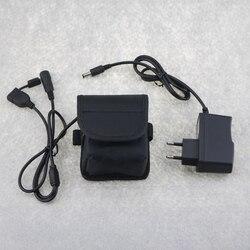 8.4V USB/DC5.5 wyjście 36000mAh 6X26650 akumulator litowo-jonowy światła rowerowe akumulator z ładowarką 8.4V