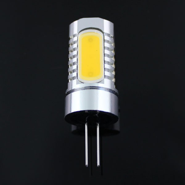 G4 LED Light Bulb 7W COB LED G4 DC/AC12V Warm and White  LED Crystal Chandelier light Aluminum spotlight corn light